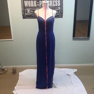 Tiffany Designs Dresses - Tiffany Designs size 6 royal blue formal dress